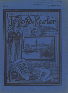 'Lord Rector' Rectorial Literature produced by the Conservative Club 1908 (DC 180/5/54)