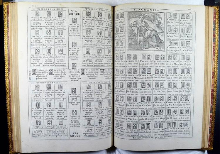 Francesco Marcolini: Le ingeniose sorti (1550) (Sp Coll SM 1721)