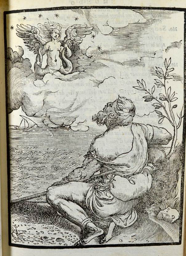 Doni: I mondi del Doni (1552) Woodcut attributed to Titian (Sp Coll SM 399)