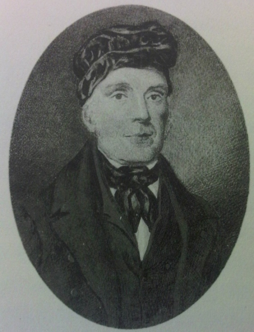 """William Laing, bookseller, (1764-1832) from """"David Laing, L.L.D, a Memoir of his Life and Literary Work"""" (Sp Coll Mu11-d.20)"""