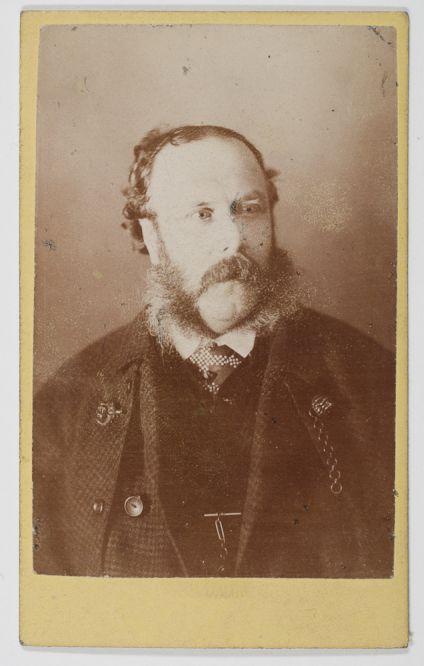 Photograph [of John Urie senior?] possibly taken at Association meeting (Dougan Add. 141 Item 25)
