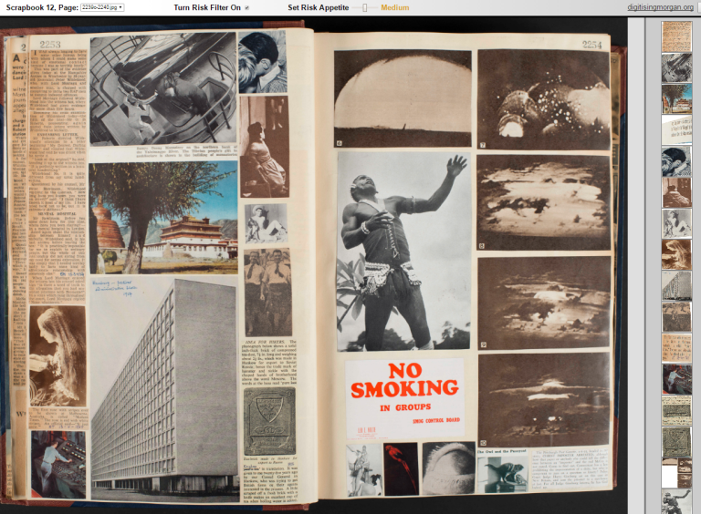 Pages 2253-4 from an interactive sample of Scrapbook 12