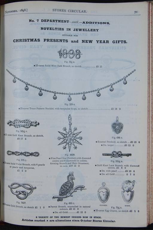 Army & Navy, 1898 Circular