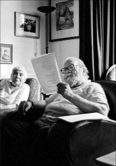 Rosemary & Philip Hobsbaum. Gerry Cambridge