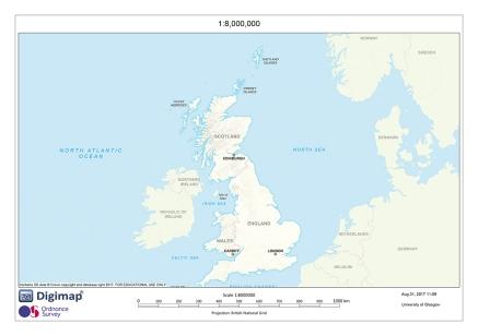 EDINA RasterPrinting Map