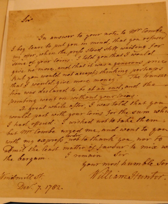 Hunter Letter G.3.17