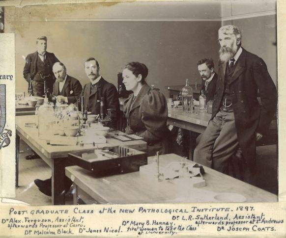 Pathology Class 1897