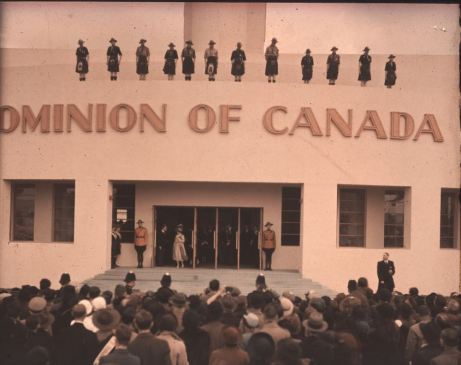 Crowd at Canadian Exhibition